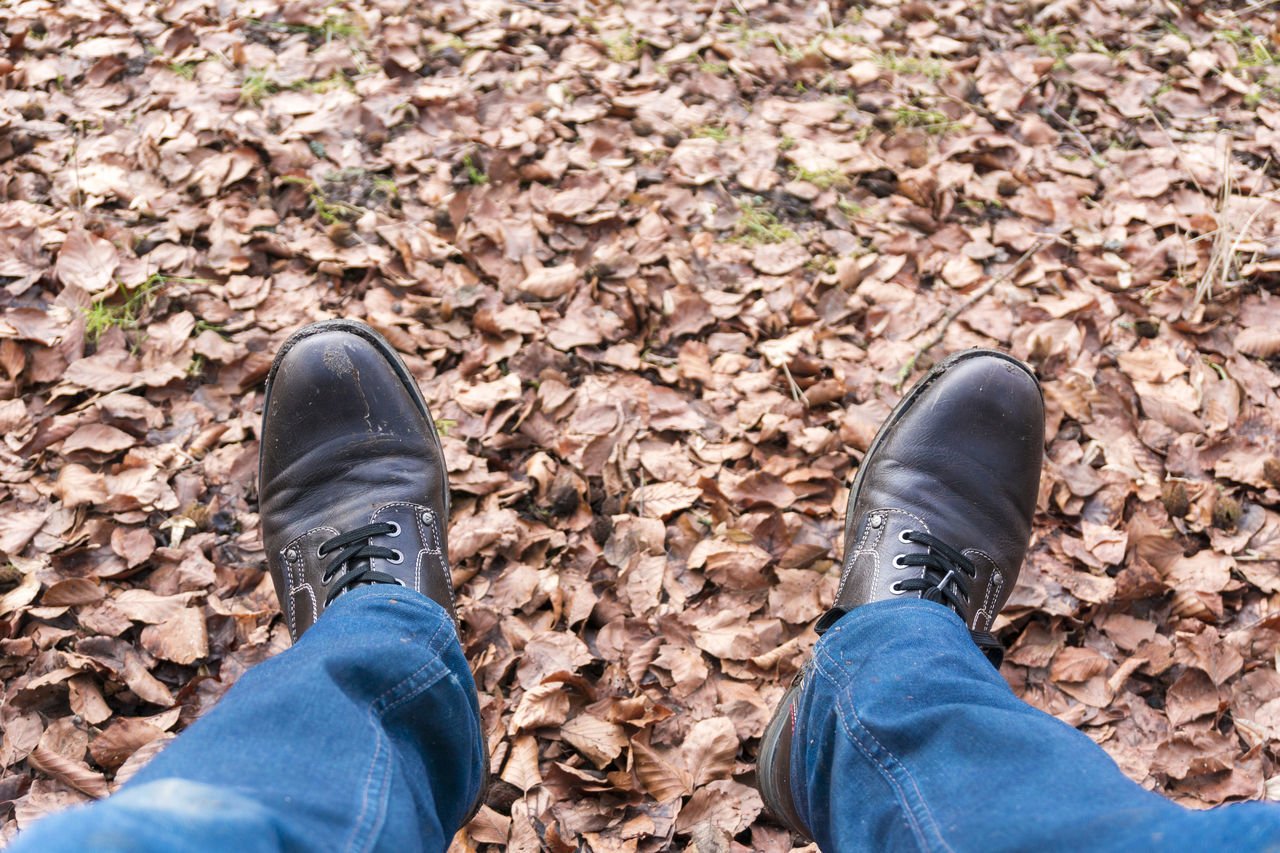 Time to relax😁🍂🍁Autumn Capture The Moment Chill Chilling Close-up Clothes Colors Fall Fall Leaves Feelings Forest Happy Having A Good Time Jeans Leaves Relaxing Relaxing Time Shoe Shoes Time To Relax
