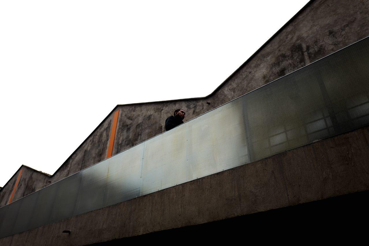Bridge Concrete Perpective Built Structure Architecture Building Exterior Day Outdoors Sky