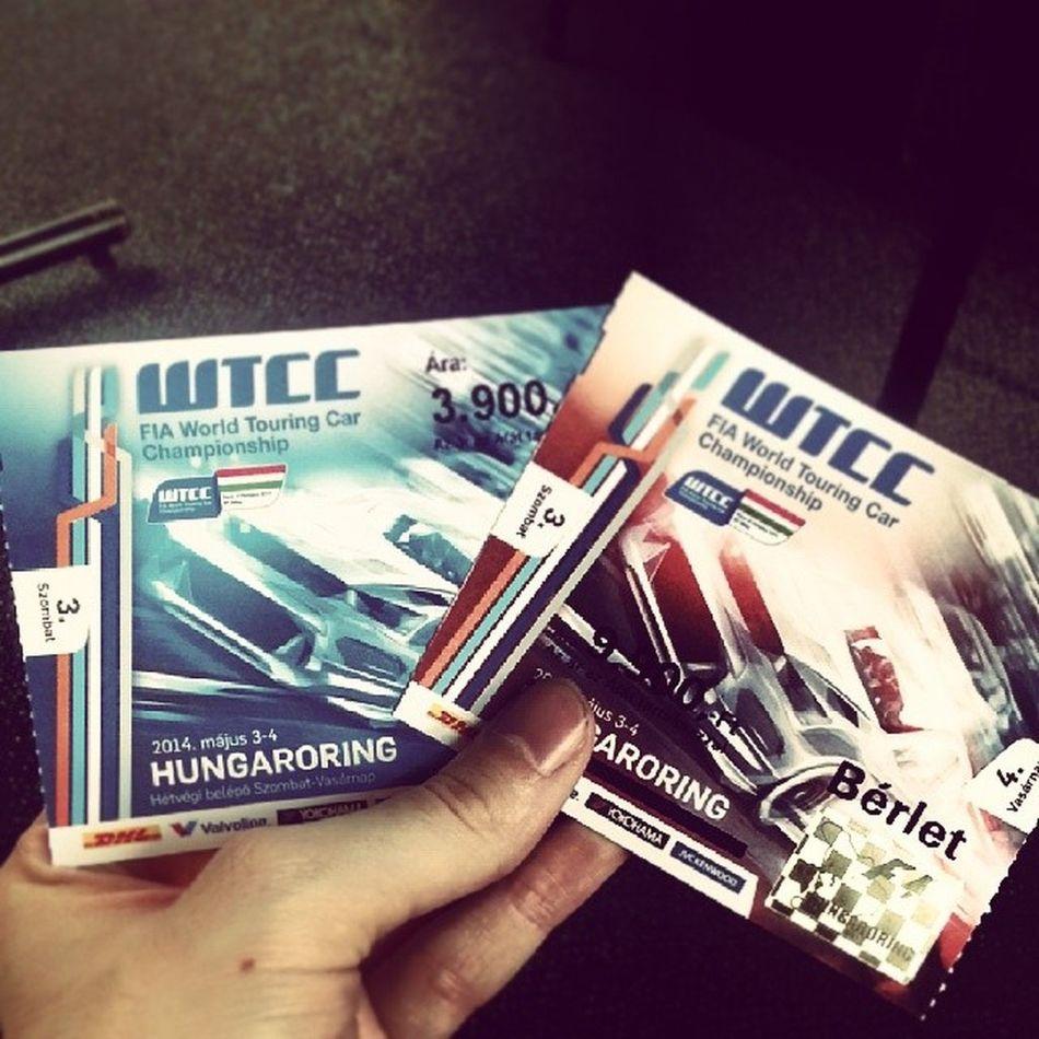 Ready for the races ;) Wtcc Race Michelisz Kisspaltamas Kpt Zengo Zeleracing Fia Hungaroring Hungary