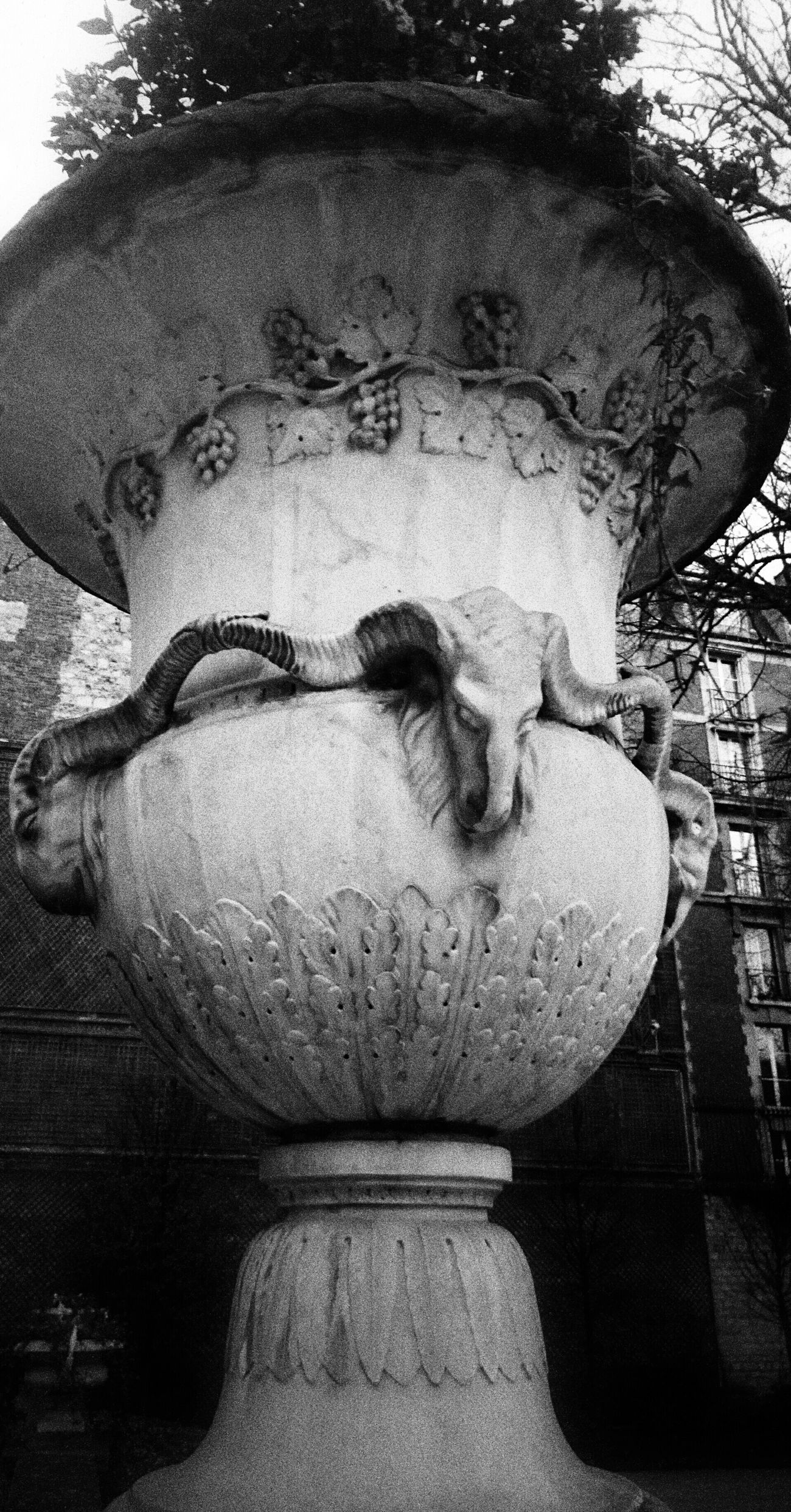 Light And Shadow Darkness And Light Black & White Historical Architecture Paris Working France