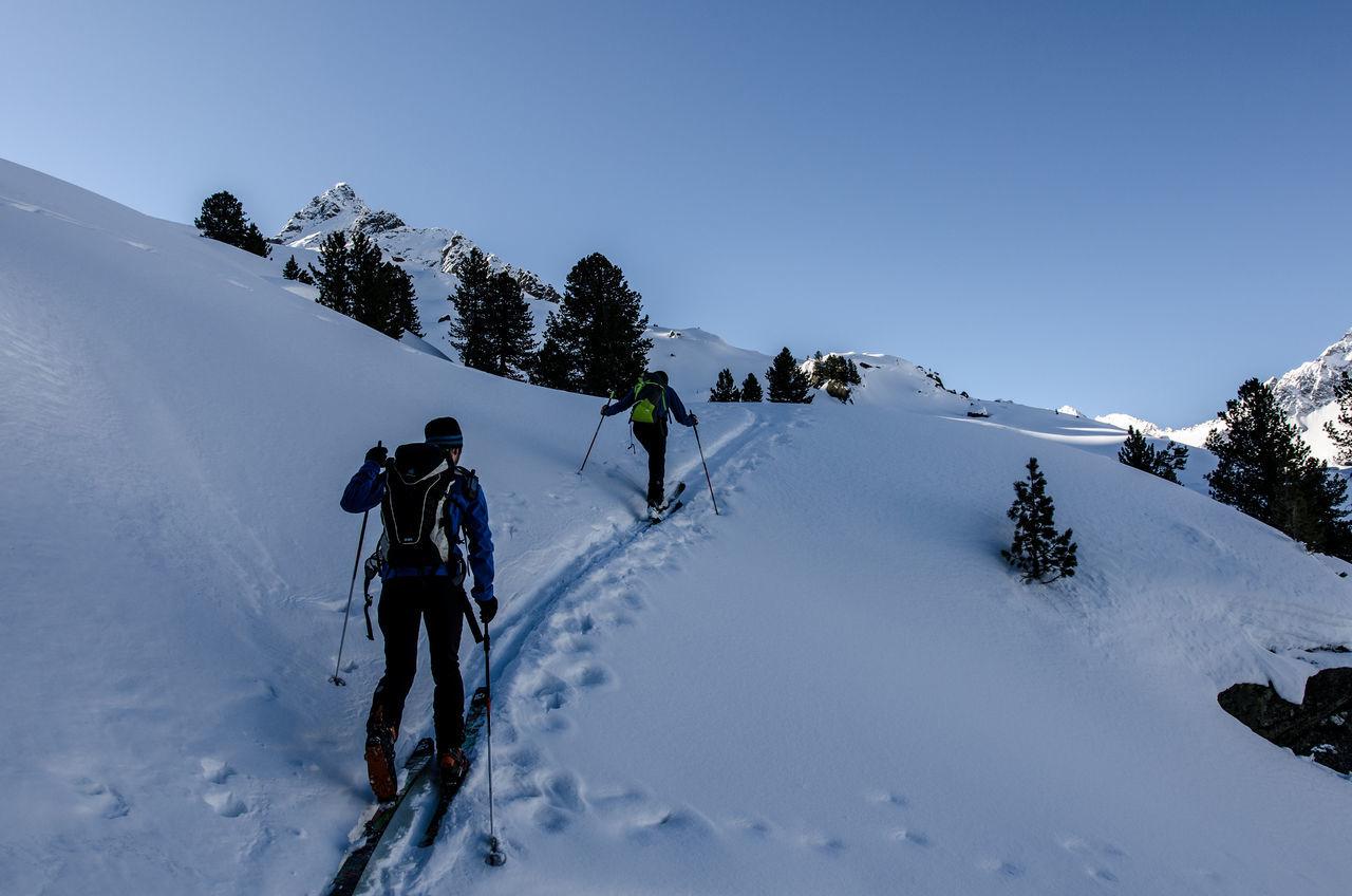 Beauty In Nature Gerlos Powder Powderdays Pulverschnee Ski Mountaneering Skitouring Snow Snow Covered Snowcapped Mountain Wildkarspitze Winter Winter Sport Zillertal Zillertal Alps Ski Mountaineering