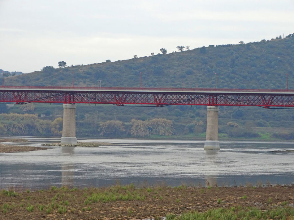 Architecture Bridge - Man Made Structure Built Structure Connection Day Engineering Mode Of Transport No People Outdoors Public Transportation Rail Transportation Railway Bridge River Sky Steam Train Train - Vehicle Transportation Water