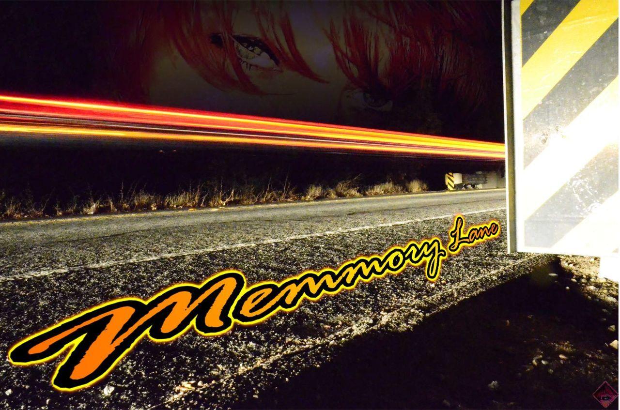 road, speed, night, transportation, yellow, outdoors, no people, light trail, illuminated, motion