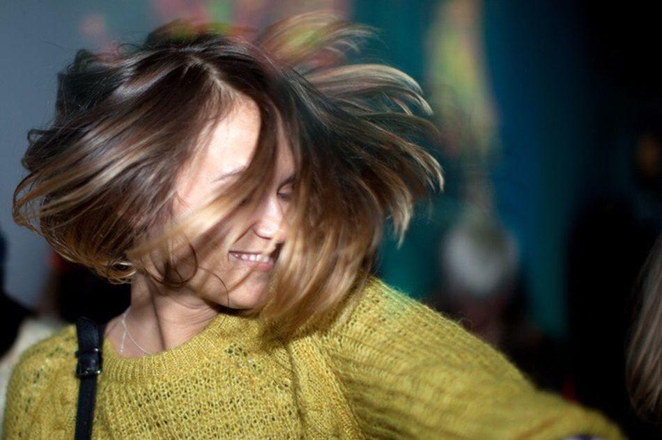 Let Your Hair Down Raver Dance EyeEm X Schwarzkopf - Let Your Hair Down