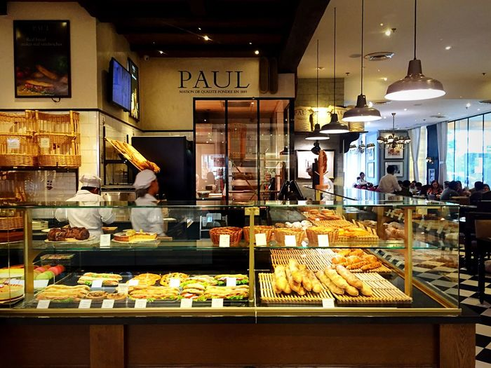 Cafe at Taguig City SM Aura Serving Pastries Cakes Tarts Sandwiches