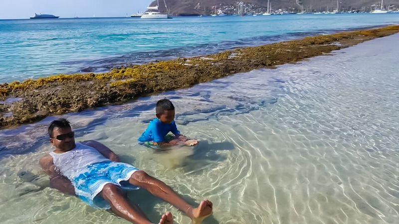 Feel The Journey Vacation 2016 Enjoying Life Relaxing Having Fun With Family Beautiful Island Of Bequia