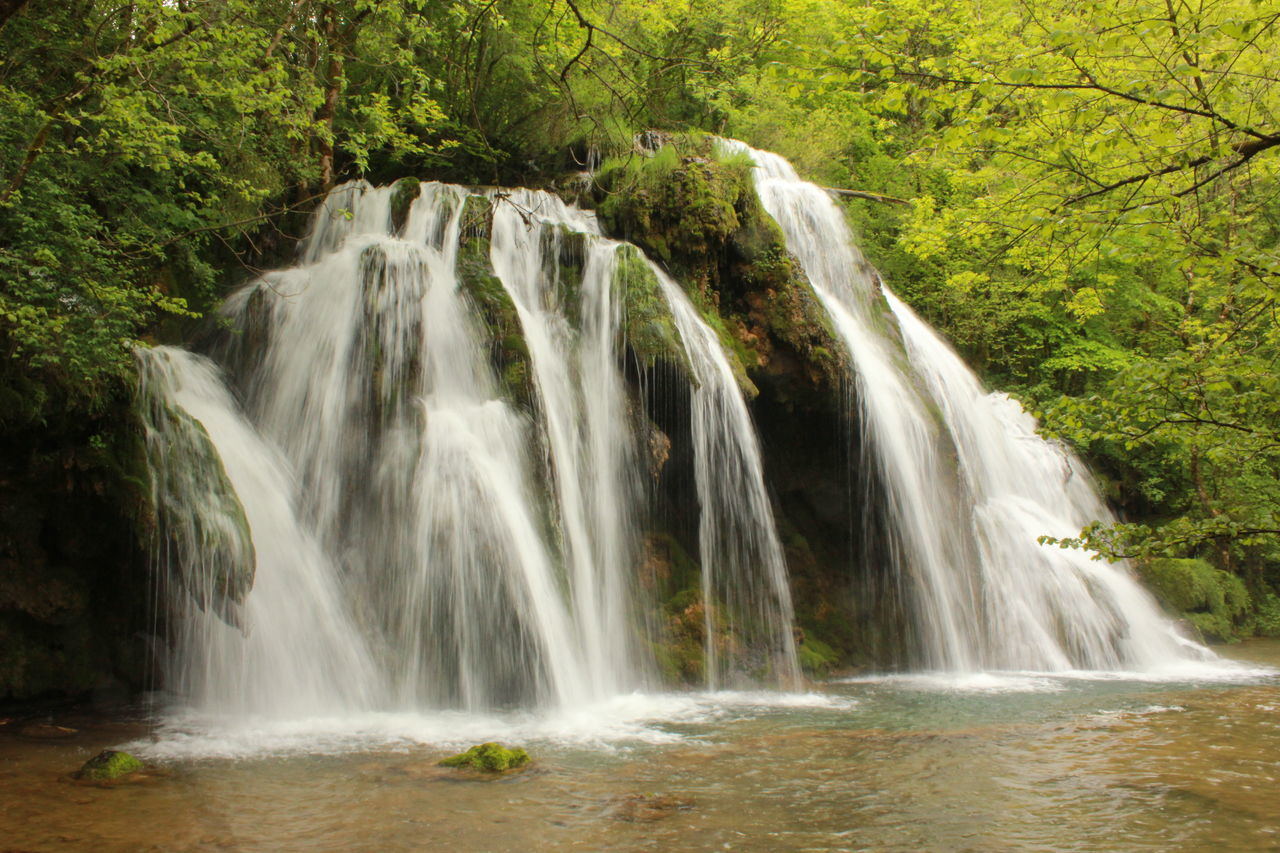 France Arbois Beauty In Nature Forest M_lannoo Nature Water Waterfall