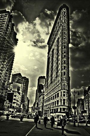Flatiron Building Streetphotography Blackandwhite Monochrome