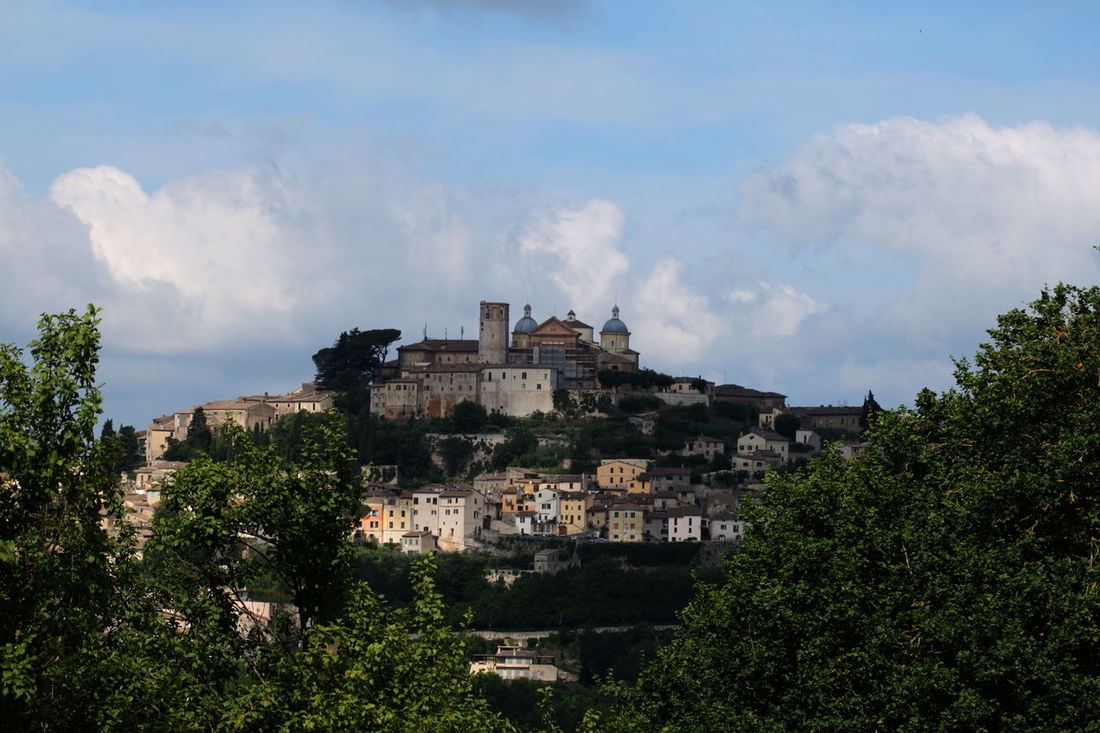 Amelia Blue Cloud - Sky Community Day Hill Italy Outdoors Residential Building Sky Town TOWNSCAPE Tree Umbria