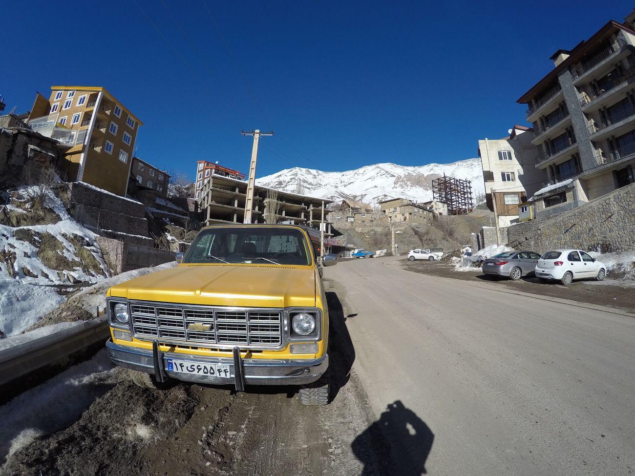 Iran Transportation Street Land Vehicle City Sky Day Nature Shemshak Car