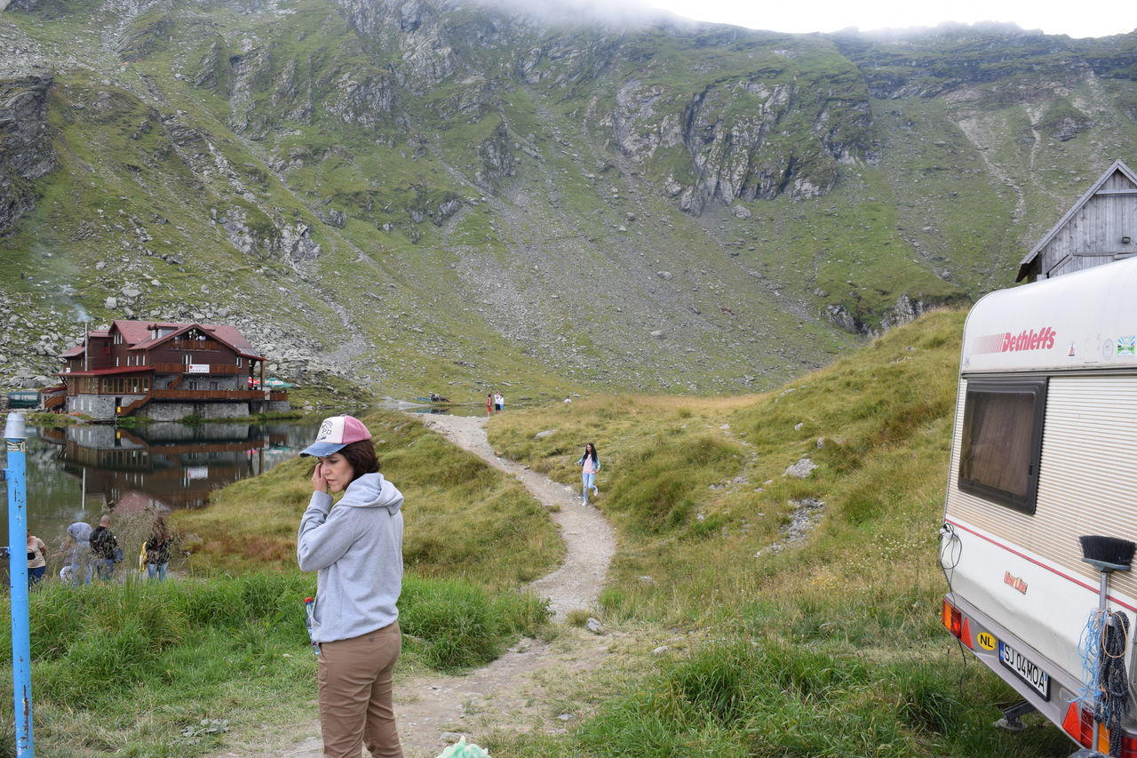 Transfagarasan Balea Lake Casual Clothing Camping Hobbies Karavan Lake Lake View Leisure Activity Lifestyles Mountain Outdoors Person Profile Road Roadtrip Romania Tourist Tourist Attraction  Transfagaraşan Travel Travel Destinations Travel Photography Traveling Young Women People And Places