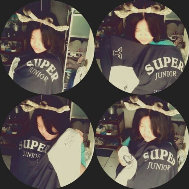 with Super Junior Baseball and Ryeowook's bando Me Selca Takeaselcas Today morning 360 effect pages nice shoot myself alone instapict instadaily tagsforlove likeme liketolike followme