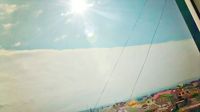Небесный горизонт Sky And City Dagestanskie Ogni