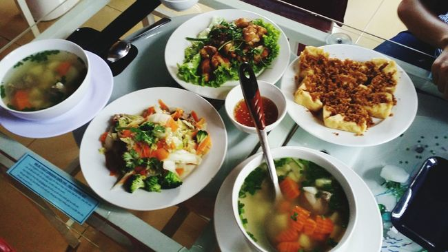 Lunch Happy Sweet <3 With My Boyfriend <3 and My Bff <3