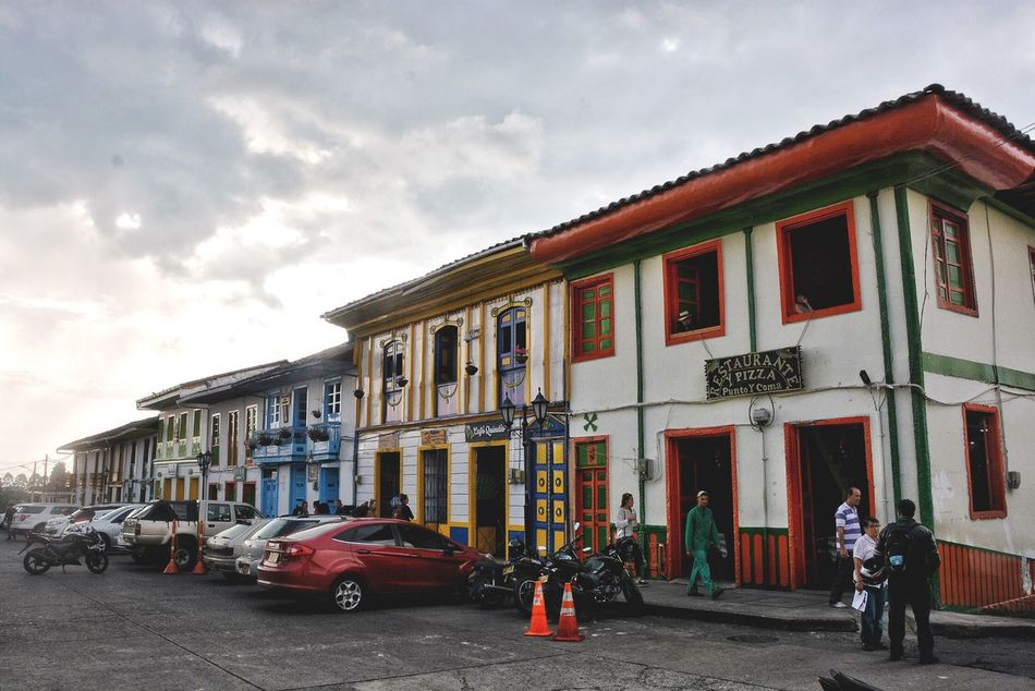 If shopping is not your things and your not a coffee lover, then go to the main plaza and you'll find many pubs where you can buy cheap beer and play billard. Architecture Building Exterior Built Structure City City Life City Colorful Town Colorful Houses Colors Urban Lifestyle Cities Tourism Town Village Village Life Culture Tourist Attraction  Tourist Destination Colombia Color Street Old Town Quindío Life Travel Destinations