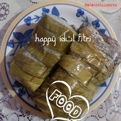 Papitos's fave, lemang or lamang.. delisiozzzooo... one of the must have item on eid ul-fitr Kulinerindonesia Alfanova Eidmubarak2013 Eidmubarak