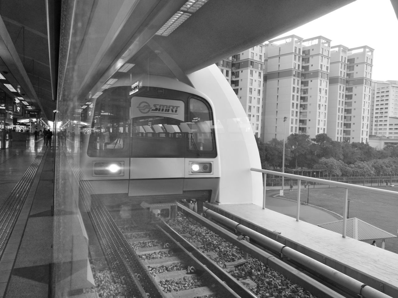 Architectural Column Architecture Built Structure City City Life Day Empty Modern My Commute My Commute-2016 EyeEm Photography Awards No People Public Transportation Railroad Station Railroad Track Subway Station The Way Forward Train System Transportation Building - Type Of Building Travel Destinations
