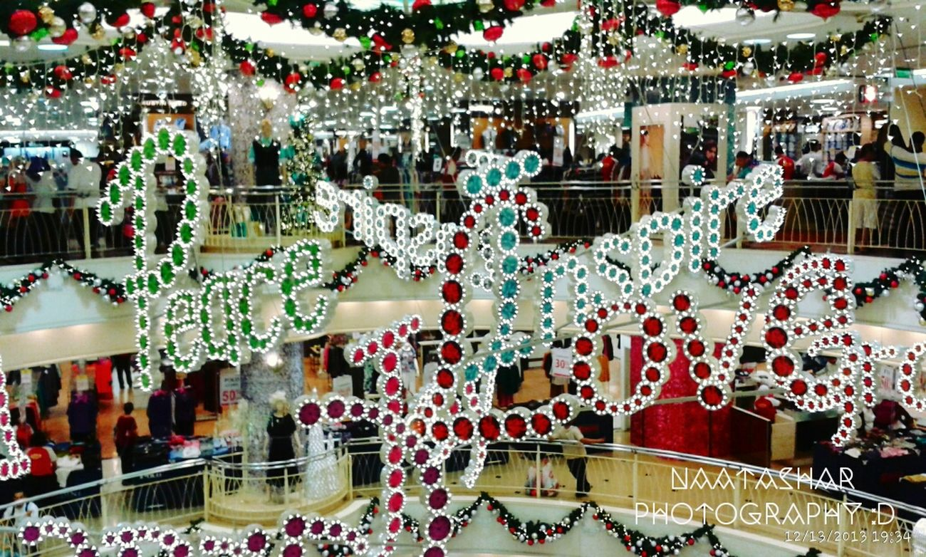 Christmas decorations! !♥ Shopping Iseeilikeisnap Taking Photos Christmas