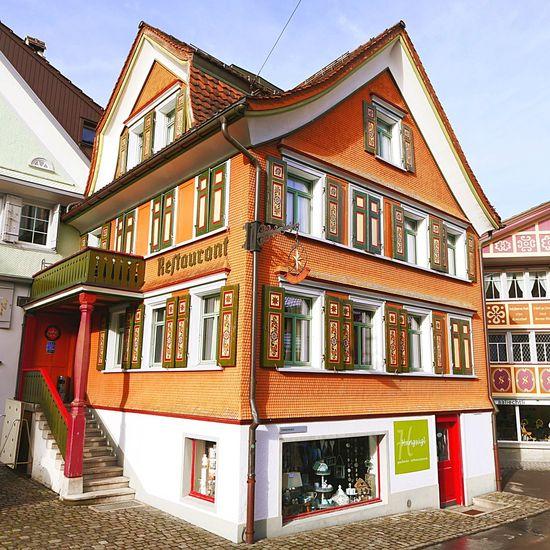 12/15 Appenzell-Winter-2015 Restaurant Bar Haus House Traditional Tradition Appenzell Village Appenzell By Jacklycat JacklyCat Best Of