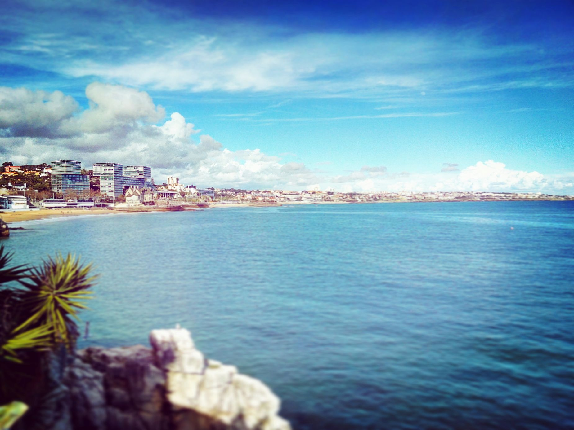 Portugal Baia De Cascais Sea Beach First Eyeem Photo