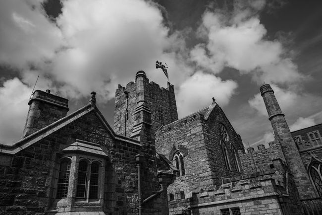 Historical Building Sky And Clouds Blackandwhite Black And White Traveling