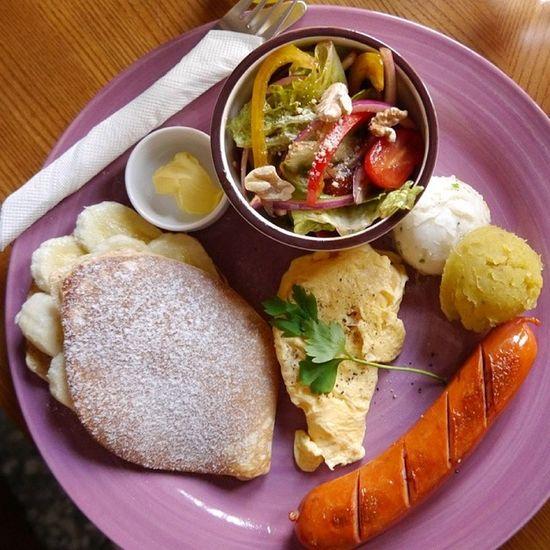 聽完大稻埕古蹟導覽後,朝聖久違的蛙咖啡~美式早午餐好美味