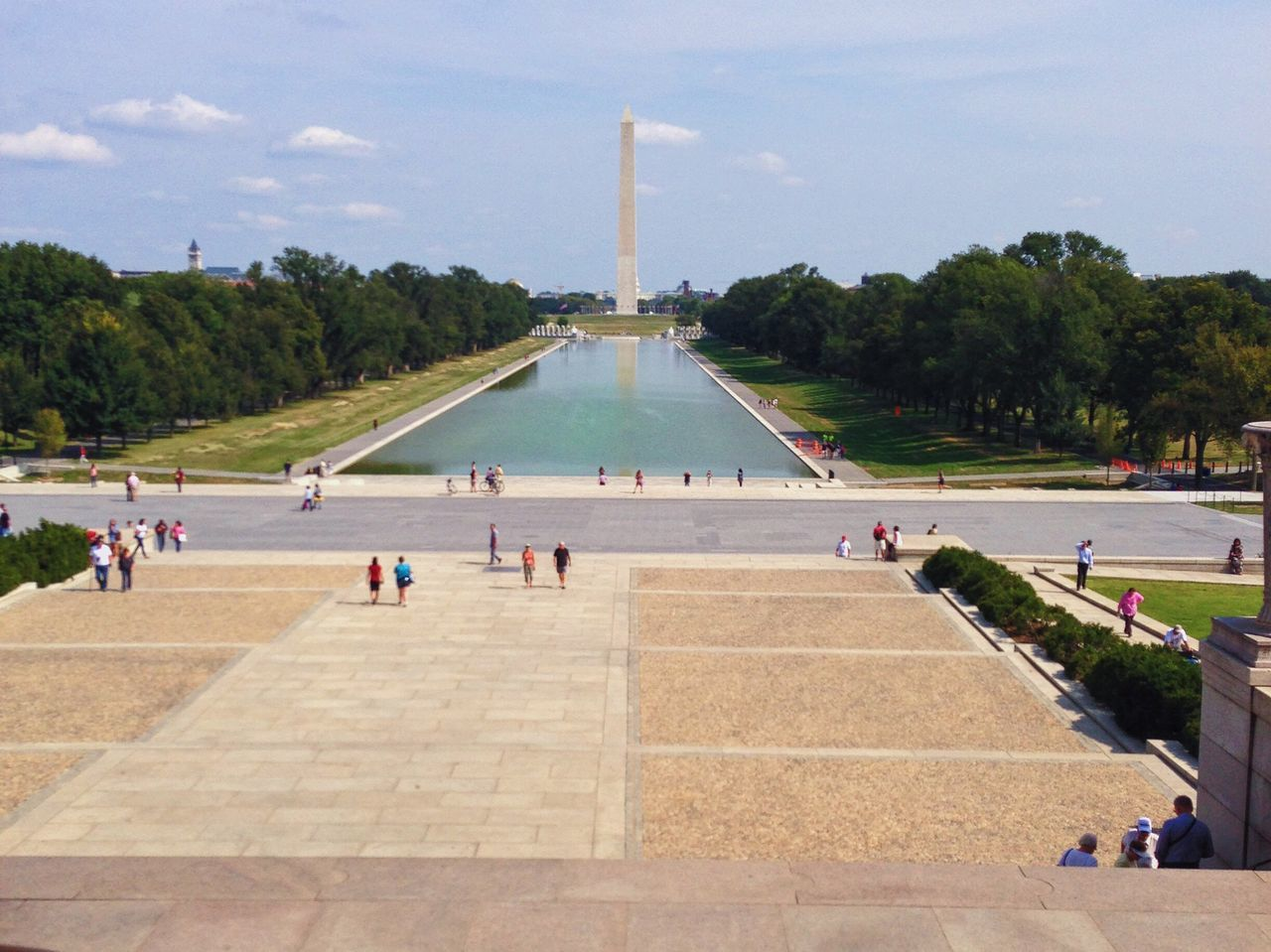 Travel Destinations Tourism Travel Large Group Of People Real People Monument Sky Day Men Outdoors Water Architecture People Adult Washington, D. C.