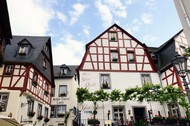 Cityscape of Beilstein at Moselle River (Germany) in summer. Architecture Beilstein Beilstein Mosel Built Structure City City Life Façade Half-timbered Half-timbered House Half-timbered Houses House Mosel Mosel River Mosel River In Germany Moselle Moseltal Rhineland-palatinate Timbered House