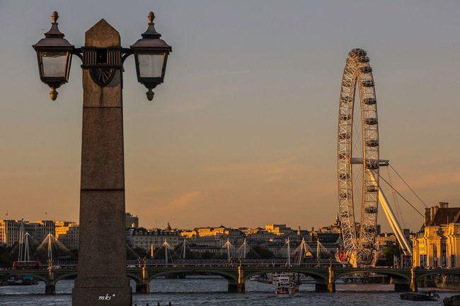 Sunset Sunset_collection London LondonEye Architecture Travel EyeEm Best Shots Eye4photography  2016 EyeEm Awards Beautiful Enjoying The View City Enjoying The Sun
