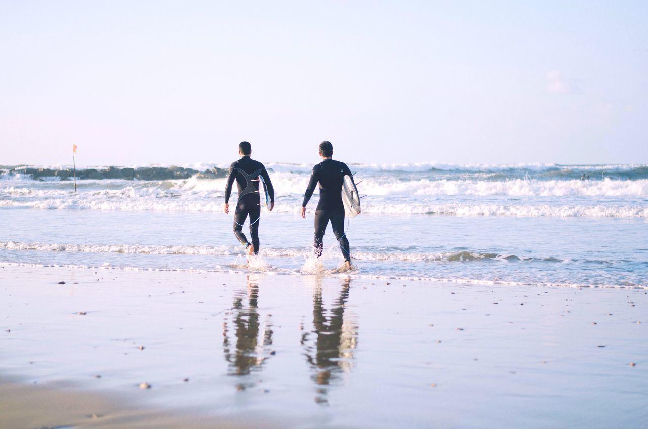 Surfing time Open Edit EyeEm Popular Photos EyeEm Best Shots Israel It's Cold Outside Showcase: January Surf Beach Adrenaline Junkie Cold Blue Surfboard Netanya Reflection The Great Outdoors - 2016 EyeEm Awards