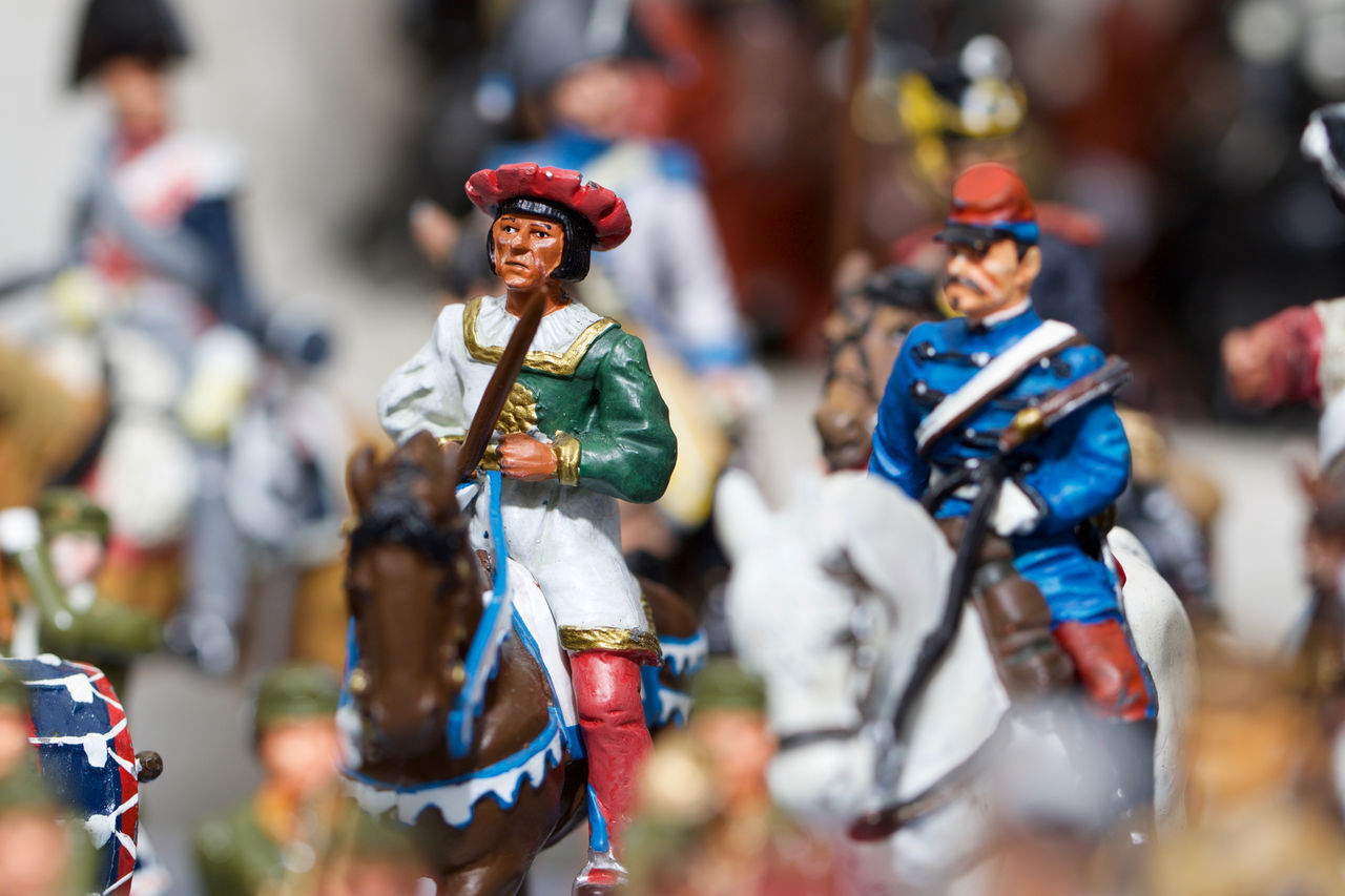 Beautiful stock photos of militär, Close-Up, Display, Figurine, Group Of Objects