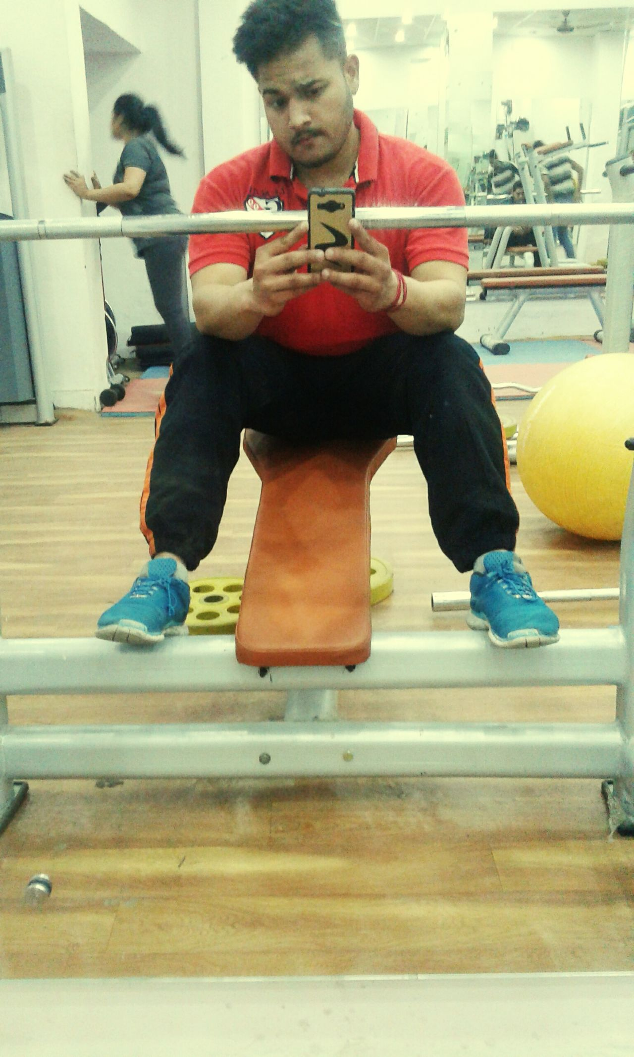 at gym First Eyeem Photo