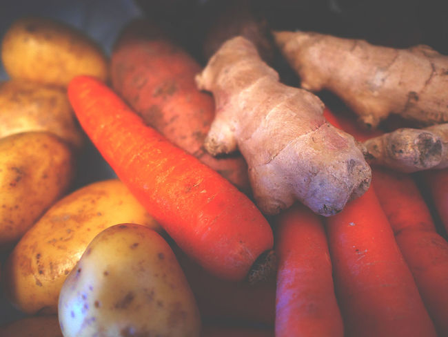 Abundance Carrot Carrots Close-up Focus On Foreground Food Freshness Ginger Healthy Eating Indulgence Ingredients Large Group Of Objects No People Organic Peel Raw Food Ready-to-eat Root Root Vegetable Roots Rootvegetables Selective Focus Still Life Vegetable Vegetables