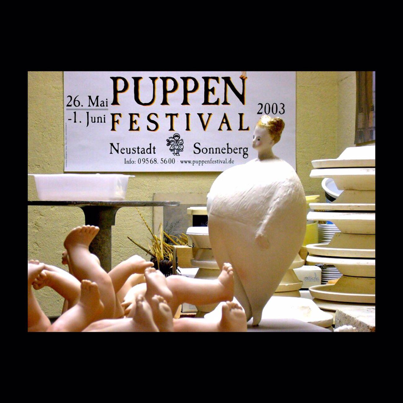 Dans l'atelier de mon ami Pierre... Pierre Durdilly Sculpture Poupée Puppen