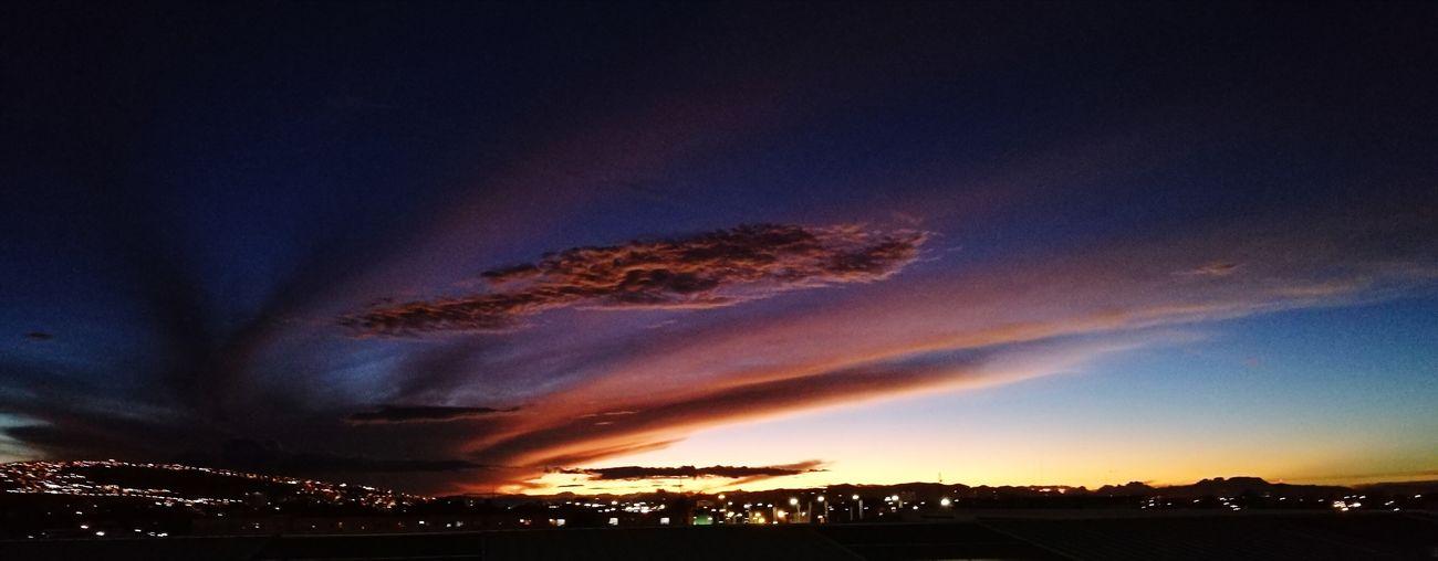Night Sunset Atardecer Bogotá