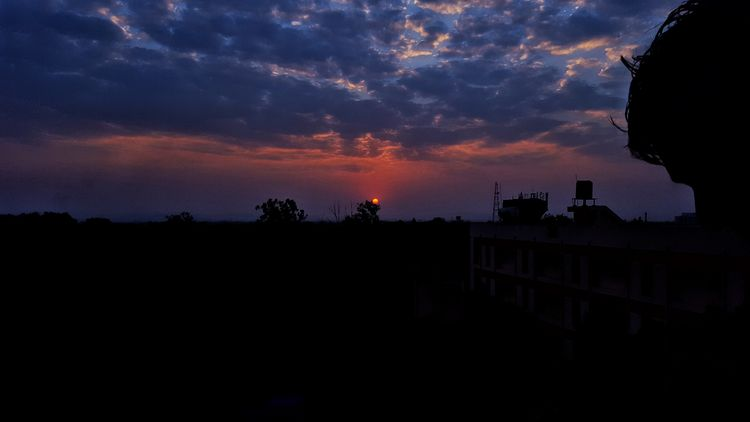 Sunset_collection Silhouette Sunset Night Sky Outdoors Beauty In Nature Timepass Clicks Hostel View Pet Portraits Mix Yourself A Good Time The Week On EyeEm EyeEmNewHere
