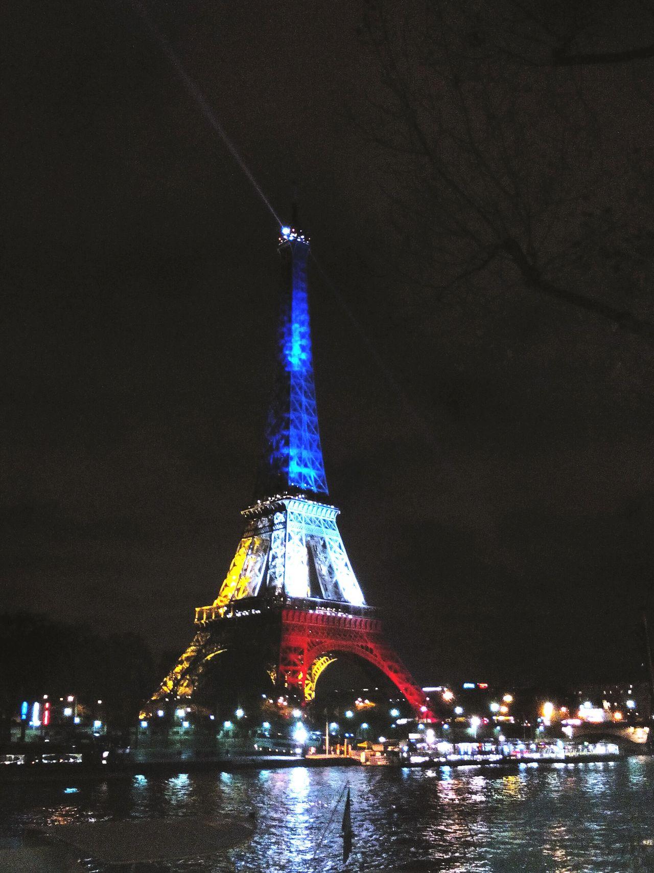 Frenchflag Paris Toureiffel Eiffel Tower