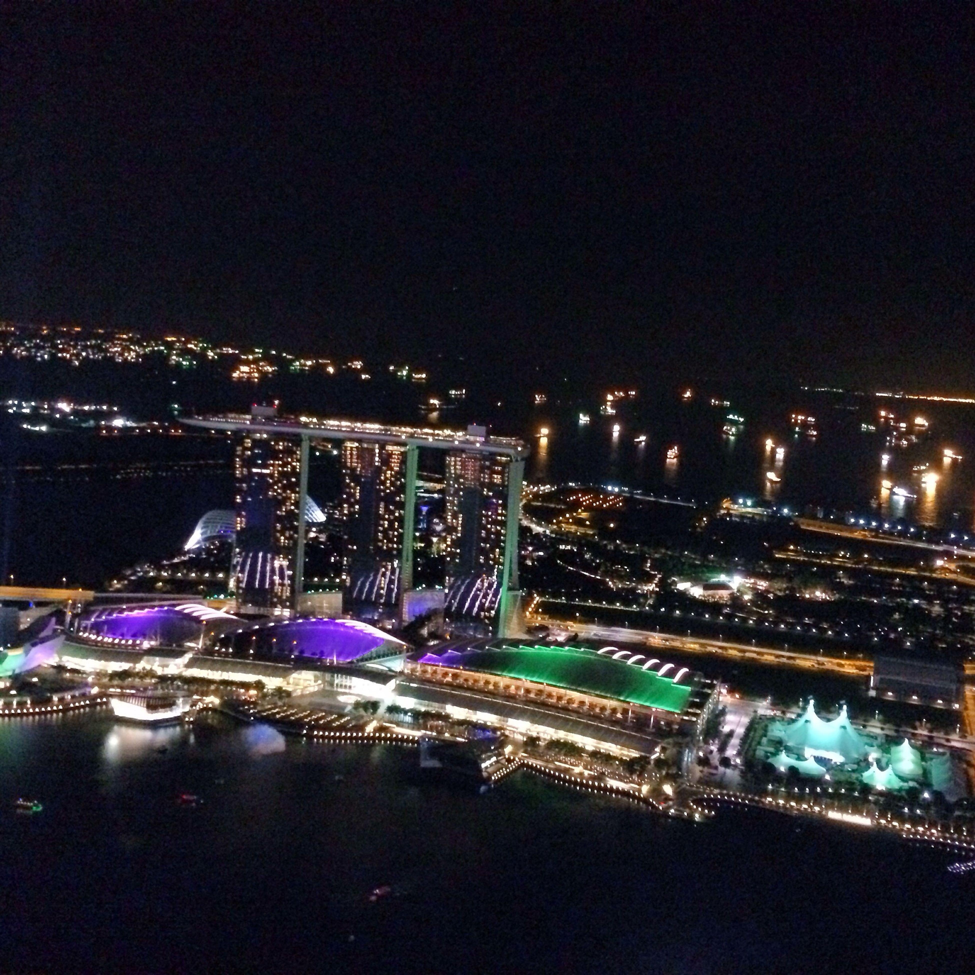 1 Altitude Bar Marina Bay Sands Roof Top The Purist (no Edit, No Filter)