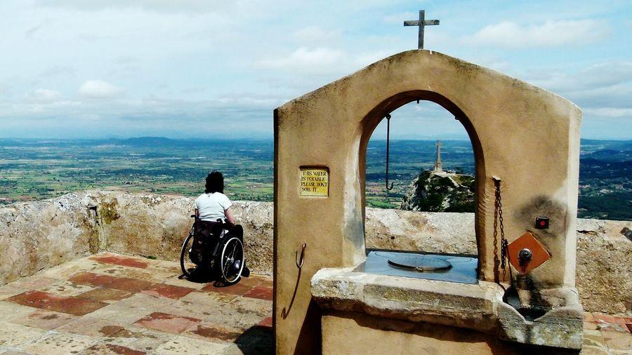 Puig De Sant Salvador Mallorca Wheelchair