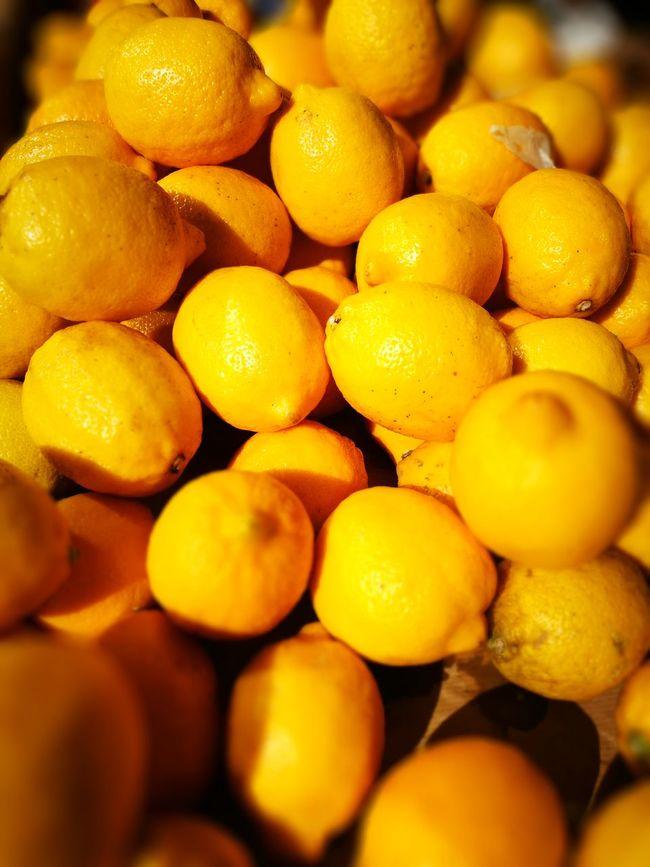 Lemons Fruit Fruit Market Yellow Color Still Life Colour Of Life Color Palette