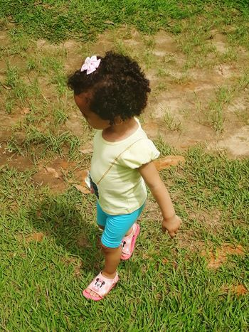 Childhood Full Length Grass One Person Baby Babies Only Day