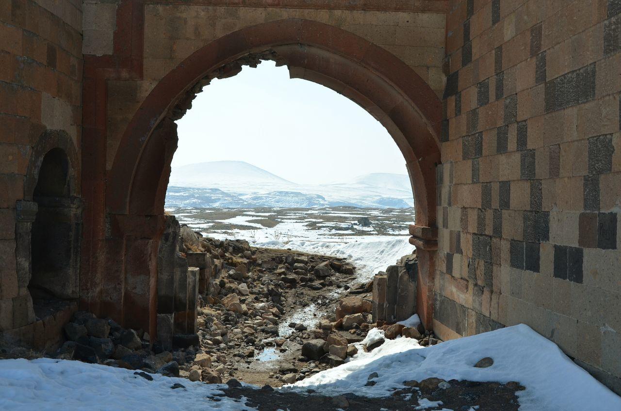 Başlangıç... Ani Örenyeri Travel Photography Kars Oldcity Histrorical Building Hello World Snow ❄ Historical Museum