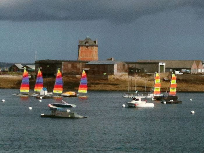 Vue de l'anse de Camaret sur Mer et de la Tour Vauban First Eyeem Photo