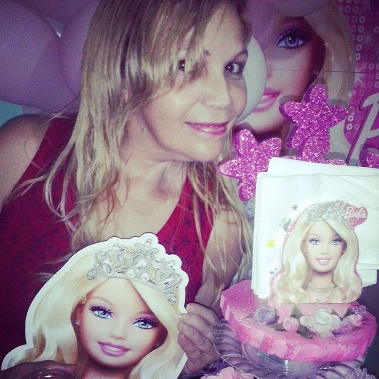 Mamãe Diva S2 Barbie Festa Tagsforlikes Swag Pink Love Girl