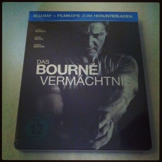 "Grad eingetroffen, ""Das Bourne Vermächtnis"" Blu-ray Steelbook #bourne #bluray #steelbook Bourne Bluray Steelbook"