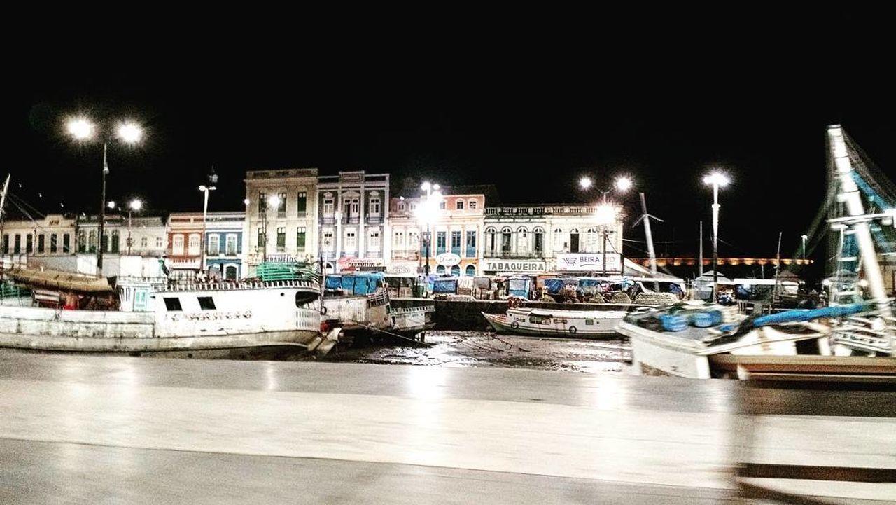 Porto complexo vêro-o-peso Transportation Hello World Night City