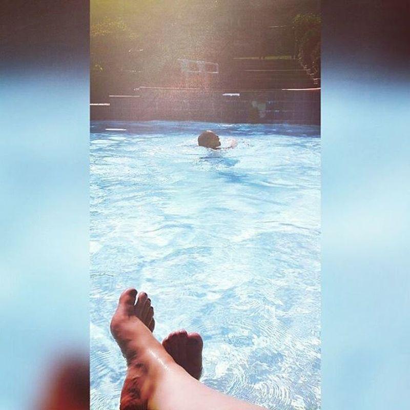 Enjoy every minute!! Whatmattersmost Priorities Pooltime Pool Summerfun Mommysbaby Enjoyeverymoment