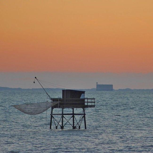Fouras en Charente-Maritime Fortboyard Carrelet