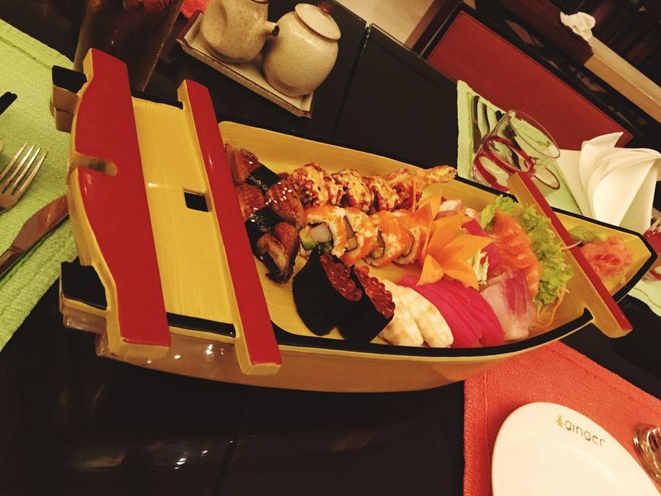 Sushi Time Sushilover Datenight Dinner