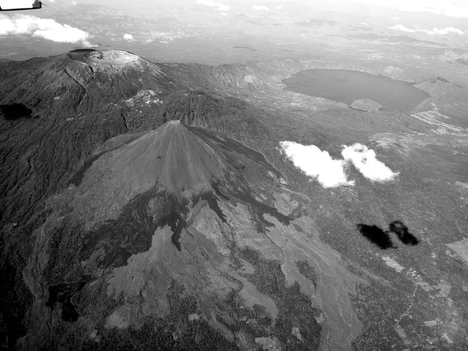 Volcano! Aerial View Beauty In Nature Coatepeque Day Extreme Terrain Guatemala Landscape Mountain Nature No People Outdoors Physical Geography Santa Ana Volcan Scenics Tranquil Scene Tranquility Volcan De Santa Ana Volcanoes Volcán
